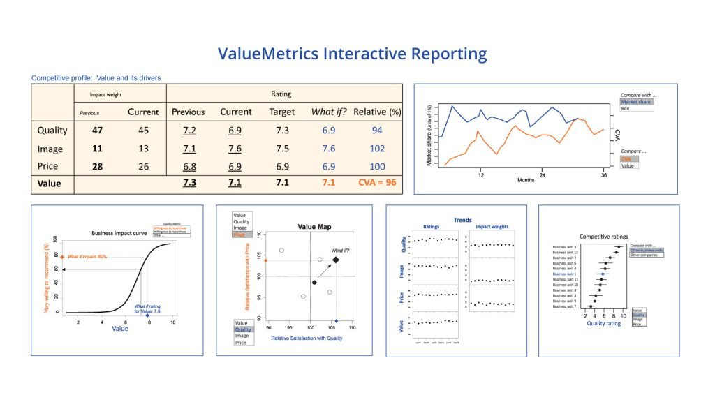 ValueMetrics Australia - interactive reporting for stakeholder value